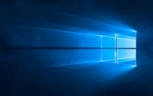 Windows 10の壁紙の例